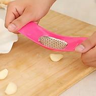 כותש שום מטבח כלי מסוק שום מגרסת משקי ירקות חותך בישול צבע ממתקים אקראי