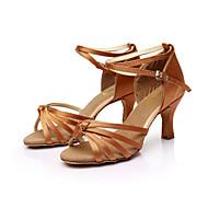 Nap Lisa latin salsa szabható női szandál szatén csat balettcipő (több szín)