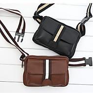 Herren Taschen Sommer PU Tragetasche Unterarmtasche Geldbörse Hüfttasche mit für Normal Schwarz Braun