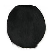 noirs bouclés cheveux crépus droite tisse chignons 4010