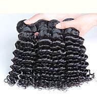 10-30inch 4 darab 400g maláj mély göndör haj 100% malaysian szűz haj