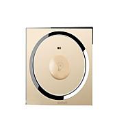 acrílico cristal interruptor espelho controle de brilho bulbo mudar o painel interruptor dimmer