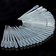50 세트 3 ㎖ 플라스틱 피펫의 스포이드 액체 전송 피펫 주방 도구,