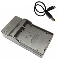 lpe5 micro usb κινητά κάμερα φορτιστή μπαταρίας για Canon EOS 450D 500D 1000D kissx2 kissx3