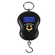 back light guincho portátil balança eletrônica, bagagem, pacote expresso portátil pendurar escala (backlight 50kg)