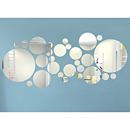 3D Round Shape Wall Stickers DIY Mirror Wall Stickers ,Combination Round Wall Stickers Acrylic Decals Home Decor