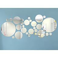 3D Falimatrica Repülőgép matricák / Tükör falimatrica Dekoratív falmatricák,Acrylic Anyag Eltávolítható / Újra-pozícionálható