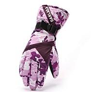 Luvas de esqui Dedo Total Mulheres Luvas Esportivas Manter Quente A Prova de Vento Anti-desgaste GQY®Esqui Ciclismo/Moto Acampar e