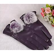 lady konijn bal full touch screen warm de winter rijden fiets motorfiets zonnebrandcrème fitness handschoenen