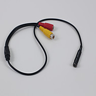 mini caméra 720p petite sécurité maison numérique caméra cachée 3.7mm lentille 12VDC 100W seulement pour AHD dvr