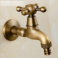 アンティーク真鍮仕上げの蛇口アクセサリー現代黄銅バルブ