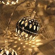 20-ledede 2.5m stjerne lys vandtæt stik udendørs jul ferie dekoration lys førte streng lys