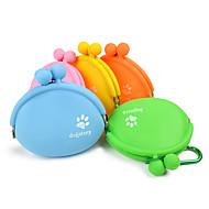 ネコ 犬 餌入れ/水入れ ペット用 ボウル&摂食 携帯用 オレンジ イエロー グリーン ブルー ピンク