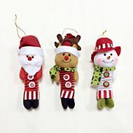 рождественские украшения с пружинной украшения / дерево