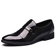 Masculino sapatos Couro Primavera Verão Outono Inverno Conforto Botas da Moda Mocassins e Slip-Ons Tachas Para Casual Festas & Noite