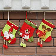 3cover) (estilos diferentes) Ornamento da casa ultramoderna decorações de Natal meia do natal