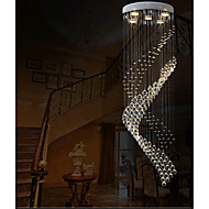 ペンダントライト ,  現代風 電気メッキ 特徴 for クリスタル LED メタル リビングルーム ベッドルーム ダイニングルーム キッチン 研究室/オフィス エントリ ゲームルーム 廊下 ガレージ