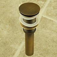 アンティーク真鍮 ポップアップ式 排水ドレイン/シンク (0698 -1003)