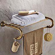 antiikki messinki päällystetty viimeistely messinki materiaalia kylpyhuoneen hyllylle
