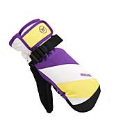 Luvas de esqui Dedo Total Todos Luvas Esportivas Mantenha Quente / Prova de Neve Esqui / Esportes Relaxantes Algodão / PU Luvas de Esqui