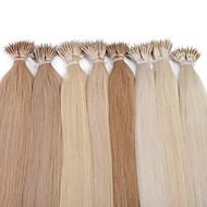 neitsi 20 '' proste linki pierścieniowe nano człowieka przedłużanie włosów 25g / lot 1g / s 100% remy włosy