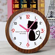 creatieve mooie kat klok bureauklok bureau wekker tafelklok creatieve thuis decoratieve manier mute horloges