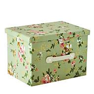 raylinedo® 26L összecsukható tároló doboz ruhát takaró szekrényben pulóver szervező vászon örömében virágmintás