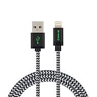 mfi 2m (6ft) gevlochten bliksem kabel usb synchroniseren en opladen voor de Apple iPhone 7 6s plus se 5s / ipad lucht / mini