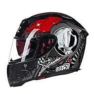 GXT g358 мотоцикл полный шлем двойной линзы анти-туман шлем абс для мужчин