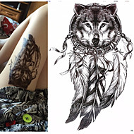 1 Tatoveringsklistremerker Dyre Serier Totem Serier Vanntett 3DDame Herre Tenåring Flash-tatovering midlertidige Tatoveringer