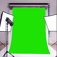 3x5ft grüne dünne Vinyl Fotografie Hintergrund Studio prop Foto Hintergrund