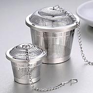1pc filtro de aço inoxidável saco de chá com sabor de sopa sabor bola de chá