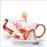 Klassisch Gehen Outdoor Trinkbecher, 30 ml Wärmeisoliert Keramik Kaffee MilchGläser und Tassen für den täglichen Gebrauch Neuheiten bei