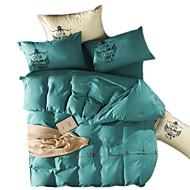 סטי שמיכה חידוש 4 חלקים הדפסה תגובתית 4 יחידות (1 כיסוי שמיכה, 2 כיסוי כרית, 1 סדין)