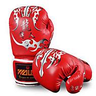 Boxhandschuhe Professionelle Boxhandschuhe für Boxen Handschuhe Stoßfest Wasserdicht Schützend PUWULONG® Weiß Rot Raue Schwarz