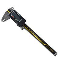 Mantenha o vernier calibre digital 150mm aço inoxidável