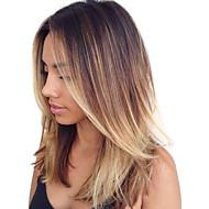 Włosy naturalne Włosy indyjskie Ombre Body wave Przedłużanie włosów 1 sztuka Średni Brown / Strawberry Blonde