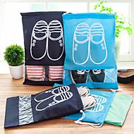 1pç Saco para Sapato Secagem Rápida Á Prova-de-Pó Dobrável Ultra Leve (UL) Organizadores para Viagem para Secagem Rápida Á Prova-de-Pó