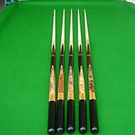 Tři čtvrtletí Dvoudílné Cue Tága a příslušenství Snooker Vodní modrá multi-tool Javor