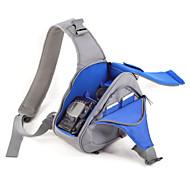 SLR-Tas- voor-Eén-schouder- met-Zwart Grijs Blauw