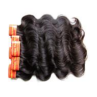 Malajski dziewiczy włosy fala sylwetka 300grams 6bundle partia na jedną głowę 7a stopień jakości 100% ludzka maszyna do włosów wykonana