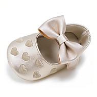 Kinder Baby Loafers & Slip-Ons Lauflern Kunststoff Sommer Herbst Normal Kleid Party & Festivität Lauflern Schleife Flacher AbsatzRosa