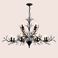 Lustres ,  Contemprâneo Tradicional/Clássico Tifani Vintage Retro Rústico Pintura Característica for Cristal LED MetalSala de Estar