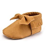Kinder Baby Loafers & Slip-Ons Lauflern Mikrofaser Herbst Winter Normal Kleid Party & Festivität Lauflern Schleife Quaste Flacher Absatz