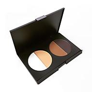 Pro Face Powder Pressed Palette Bronzer Highlighter Matte Foundation Contour 4 Color Nude Facial Base Makeup Cosmetics