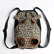 Кошка / Собака Переезд и перевозные рюкзаки / передняя Рюкзак Животные Покрывала Компактность / Леопардовый принт Мультиколор Ткань