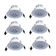 Lumini Recessed Alb Cald Alb Rece Altele LED 6