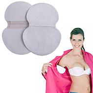 6pair deodorant disposable underarm armhule absorberer anti svette svette underarm bomull beskyttelsespute