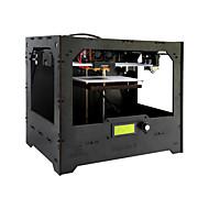 Duplicador de madeira geeetech 5 diy dual extruder 3d printer