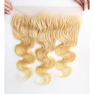 10-20inch 613 valkaisuaine blondi pitsi edestä kehon aalto vaaleat hiukset edestä sulkeminen 13x4